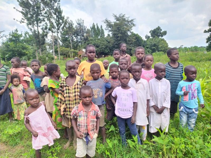 24 Ekim'de Afrika Uganda'daydık.