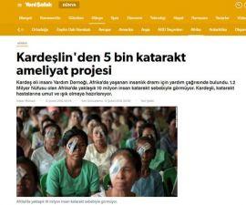 5 Bin Katarakt Projesi