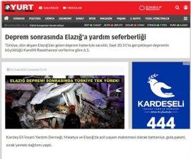Elazığ'a Yardım !