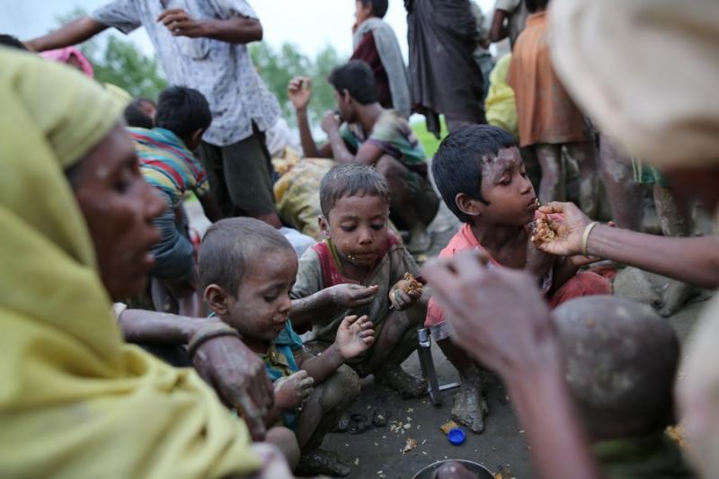 Arakan Mülteci Kamplarında Son Durum..!
